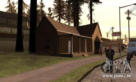 Nouvelle maison de Sijia à Angel Pine pour GTA San Andreas troisième écran