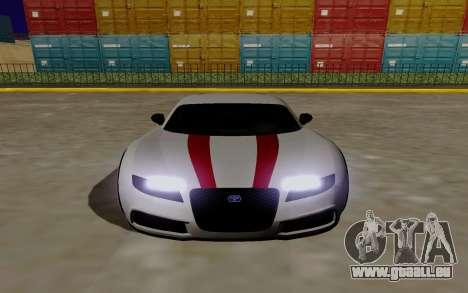 Gta 5 Truffade Adder pour GTA San Andreas vue de droite