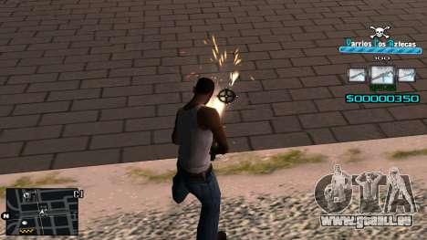 C-HUD RJ Aztecaz für GTA San Andreas dritten Screenshot