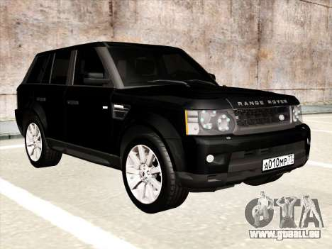 Range Rover Sport für GTA San Andreas Innenansicht