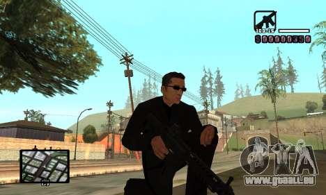 C-HUD by Miller für GTA San Andreas her Screenshot