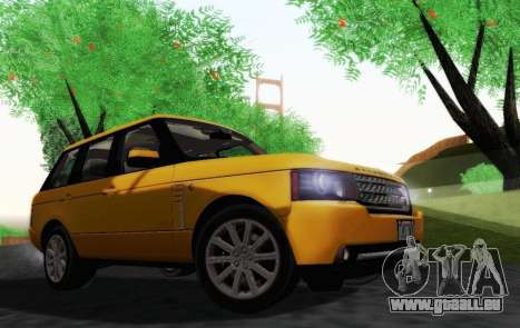 Range Rover Supercharged Series III pour GTA San Andreas