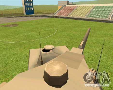 RhinoKnappe auf. 128mm Zenit-Waffe für GTA San Andreas zurück linke Ansicht