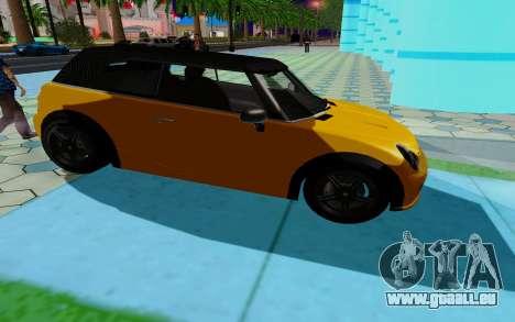 GTA 5 Weeny Issi V1.0 pour GTA San Andreas vue de droite