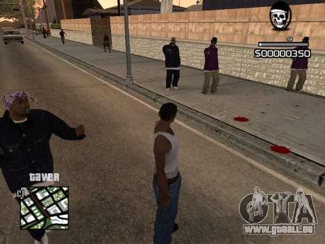 C-HUD By Kapo pour GTA San Andreas deuxième écran