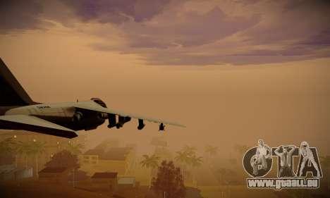 ENBSeries pour la faiblesse du PC pour GTA San Andreas sixième écran