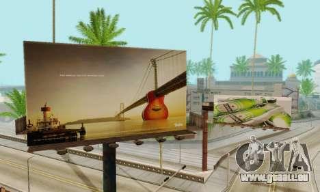 Neue hochwertige Werbung auf Plakaten für GTA San Andreas siebten Screenshot