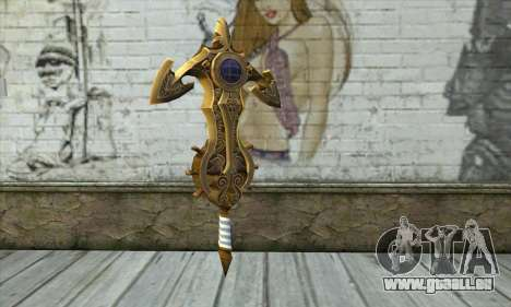 Dragon Nest Warrior Marine Sword pour GTA San Andreas