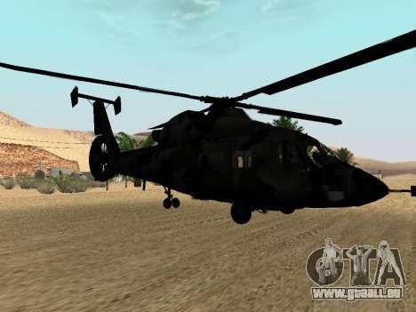 KA-60 pour GTA San Andreas vue de côté