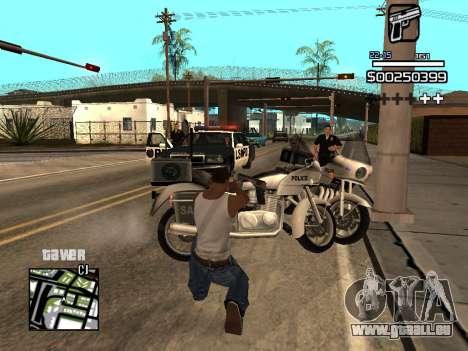C-HUD By Kapo pour GTA San Andreas septième écran