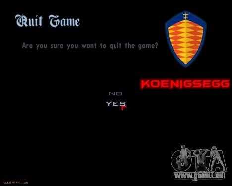 Nouveau menu d'image pour GTA San Andreas cinquième écran