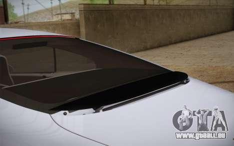 Bentley Continental SuperSports 2010 v2 Finale pour GTA San Andreas vue arrière