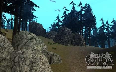 RoSA Project v1.4 Countryside SF pour GTA San Andreas dixième écran