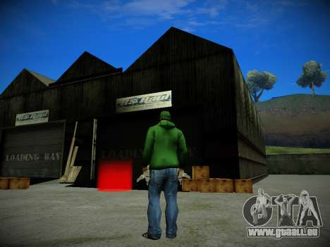 Journey mod by andre500 für GTA San Andreas zweiten Screenshot