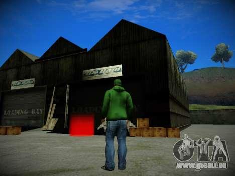 Journey mod: Special Edition pour GTA San Andreas deuxième écran