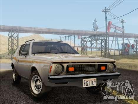 AMC Gremlin X 1973 für GTA San Andreas