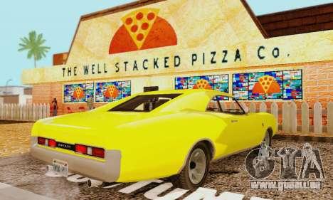 GTA 4 Imponte Dukes V1.0 pour GTA San Andreas laissé vue