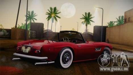 BMW 507 1959 Stock pour GTA San Andreas laissé vue