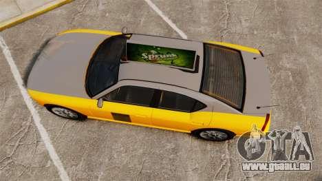 Bravado Buffalo Taxi pour GTA 4 est un droit