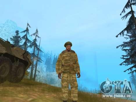 Pak service dans l'armée russe pour GTA San Andreas deuxième écran