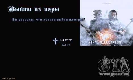 Metal Menu pour GTA San Andreas troisième écran