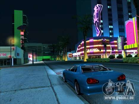 Elegy With a Pipe v1.2 pour GTA San Andreas vue de droite