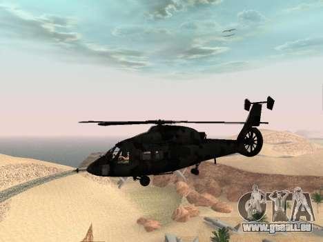 KA-60 für GTA San Andreas Rückansicht