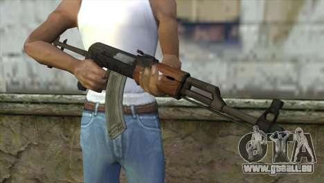 AKM Assault Rifle für GTA San Andreas dritten Screenshot