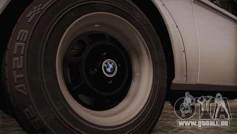 BMW 2002 1973 pour GTA San Andreas vue arrière