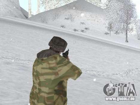 Pak Russischen Armee service für GTA San Andreas sechsten Screenshot