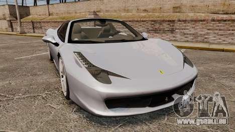 Ferrari 458 Spider pour GTA 4