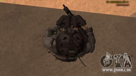 Sgt Keegan P.Russ из Call Of Duty: Ghosts pour GTA San Andreas huitième écran