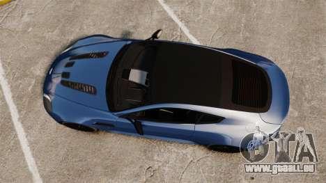 Aston Martin V12 Vantage S 2013 [Updated] pour GTA 4 est un droit