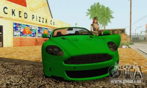 Aston Martin DBS Volante pour GTA San Andreas vue arrière