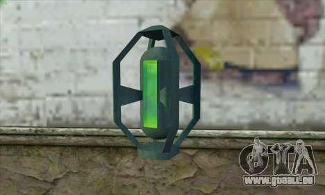 Greengoo alien liquid grenades pour GTA San Andreas