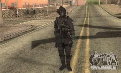 Personnalisé из CoD:Ghost pour GTA San Andreas deuxième écran