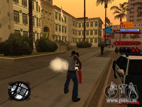 C-HUD Admins Team für GTA San Andreas neunten Screenshot