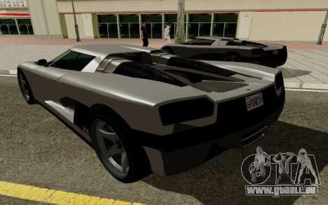 GTA 5 Overflod Entity XF pour GTA San Andreas vue de droite