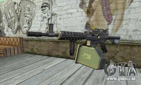 M4 Gunner pour GTA San Andreas