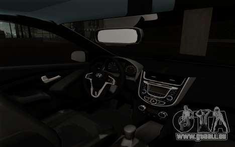 Hyundai Solaris für GTA San Andreas rechten Ansicht