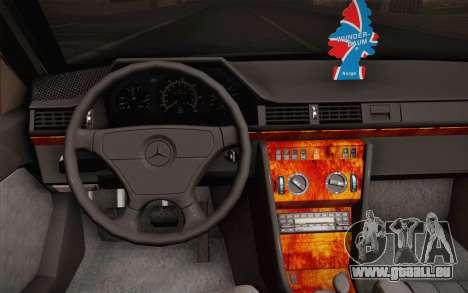 Mercedes-Benz E-Class W124 Kombi pour GTA San Andreas vue de côté