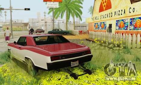 Gta 5 Boucanier mis à jour pour GTA San Andreas vue de dessous
