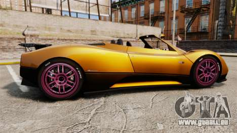Pagani Zonda C12 S Roadster 2001 PJ2 für GTA 4 linke Ansicht