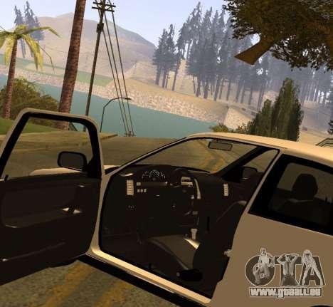 ВАЗ 2112 GVR Version 1.1 pour GTA San Andreas vue de droite