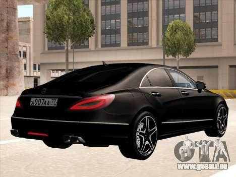 Mercedes-Benz CLS350 2012 pour GTA San Andreas vue de droite