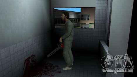 Kettensäge Taiga für GTA Vice City dritte Screenshot