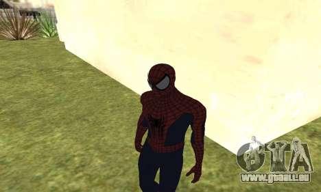 Le nouveau spider-man pour GTA San Andreas quatrième écran