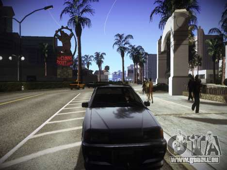 ENBseries für schwache PC v2.0 für GTA San Andreas her Screenshot