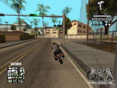 C-HUD By Kapo pour GTA San Andreas sixième écran