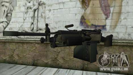 M249 SAW Machine Gun pour GTA San Andreas